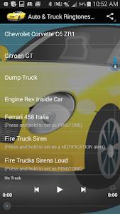 Auto & Truck Ringtones Sounds screenshot 1