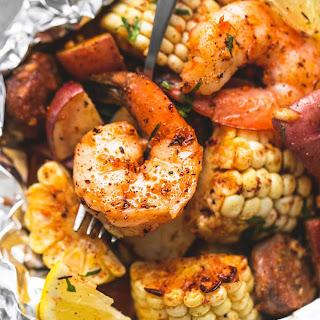 Shrimp Boil Foil Packs.