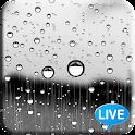 Glass Raindrops Live Wallpaper icon