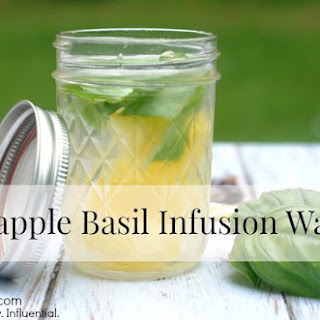 Pineapple Basil Infusion Water