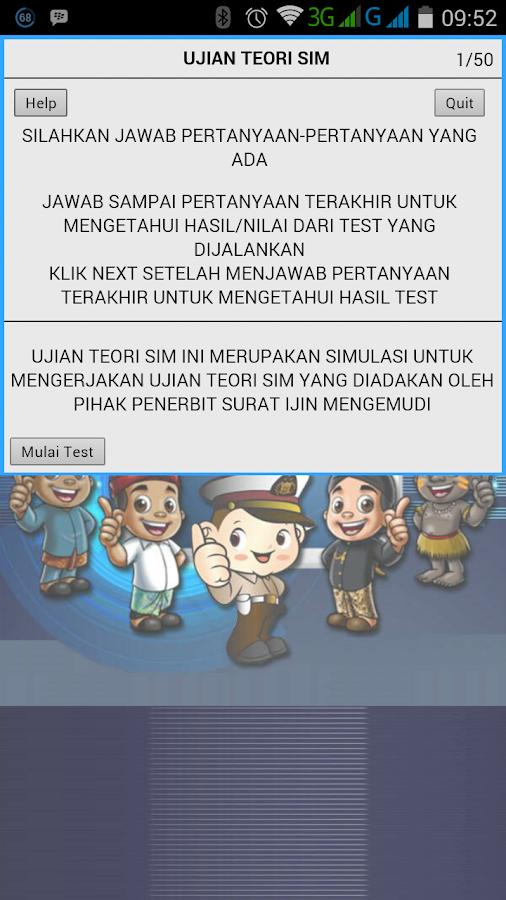 Ujian Teori Sim Android Apps On Google Play