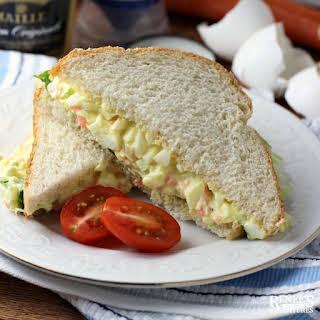 Easy Egg Salad Sandwich.