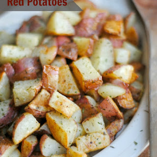 Oven Roasted Redskin Potatoes