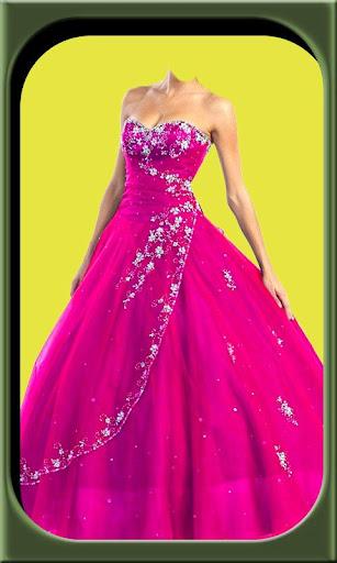 Princess dresses frames editor