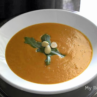 Thai Carrot Cream Soup (Dairy-free).