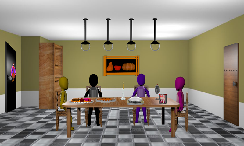 3d Escape Games Thanksgiving Room Android Apps On Google