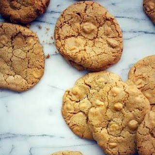 White Chocolate Ginger Cookies.