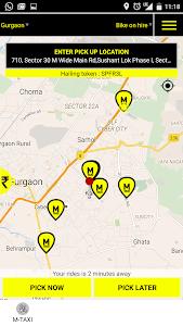 MTAXI Bike Taxi screenshot 0