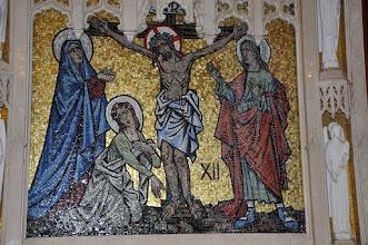 Photo: Twelth Station: Christ dies on the cross