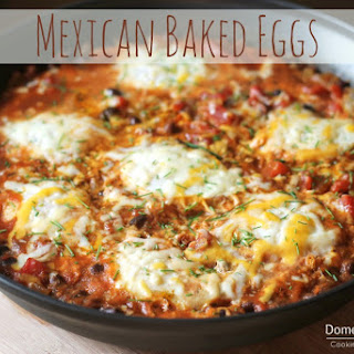 Mexican Baked Eggs.
