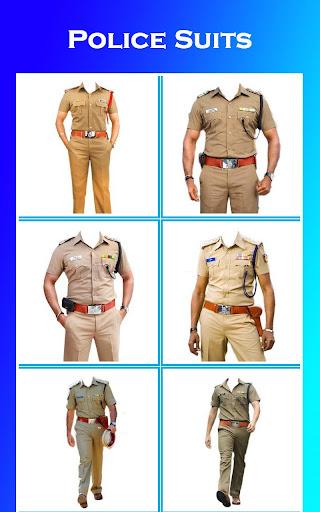 Men Police Suit Photo Editor 2020 1.0.17 screenshots 10