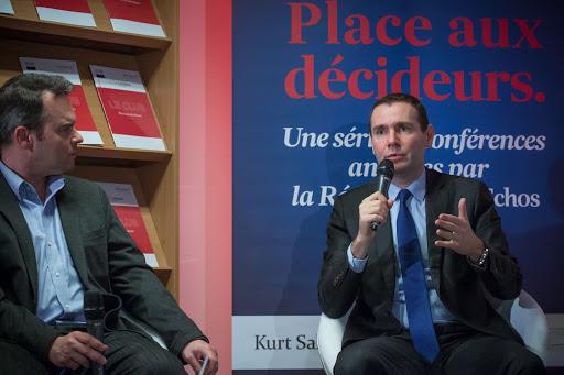 Club Les Echos Débats avec Alexandre Ricard, Président-Directeur Général de Pernod Ricard