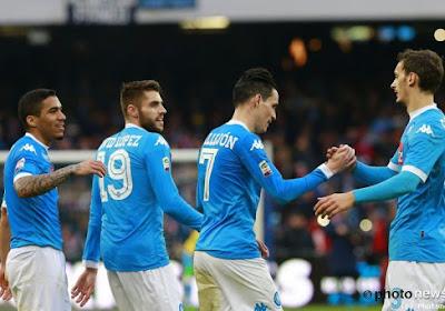Naples s'accroche à la Juventus