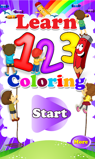 Learn 123 Coloring
