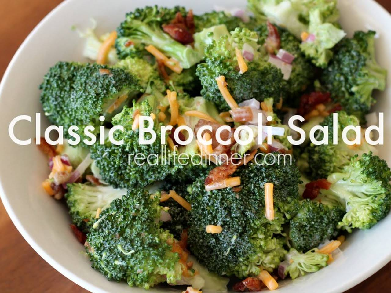 Broccoli Salad Recipe Red Wine Vinegar
