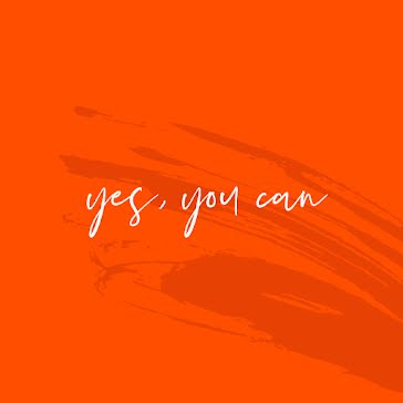 Yes, You Can - Instagram Post template