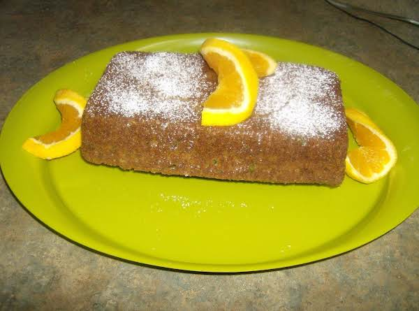 Splenda Orange Zucchini Bread Recipe
