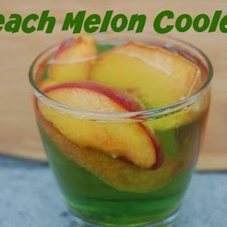 Peach Melon Cooler Recipe