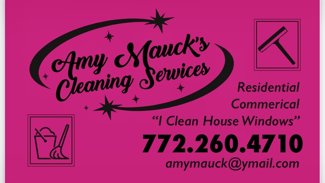 Amy Mauck's Cleaning Services - We offer great quality service at