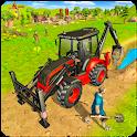 Virtual Village Excavator Construction Simulator icon