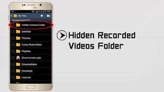 Hidden camera Apk by KOKO APPS STUDIO - wikiapk com