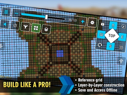 Mcproapp build companion blueprints for minecraft android apps mcproapp build companion blueprints for minecraft screenshot thumbnail malvernweather Image collections