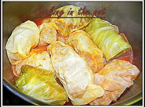 Stuffed Cabbage - Golabki Recipe