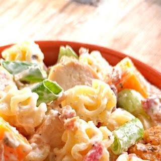 Chicken Bacon Cheddar Ranch Pasta Salad Recipe