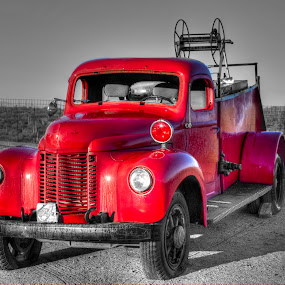 The little red engine that could by David Shearer - Transportation Automobiles ( firefighter, red, truck, firetruck, old truck )