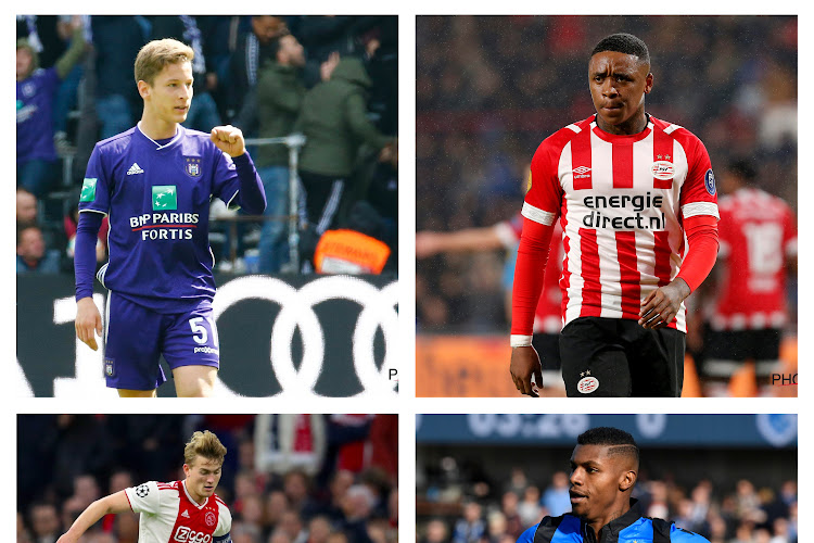 Les plus grands clubs néerlandais et belges font un premier pas vers une BeNeLigue