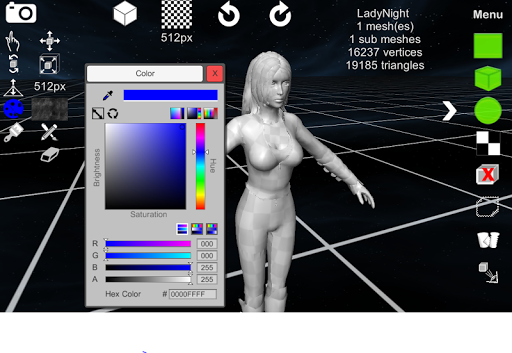d3D Sculptor - 3D modeling Apk apps 2