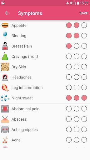 WomanLog Calendar  screenshots 5