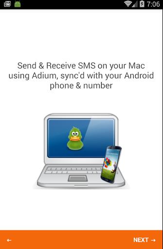 SMS Plugin for Adium