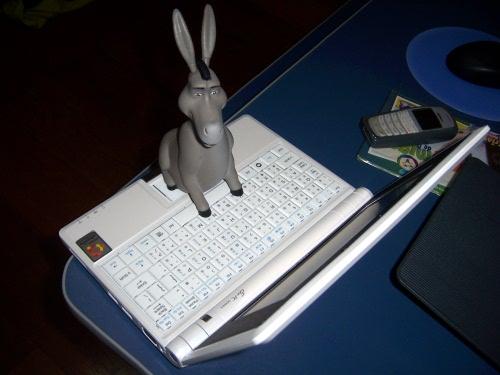 Foto do meu Eee PC