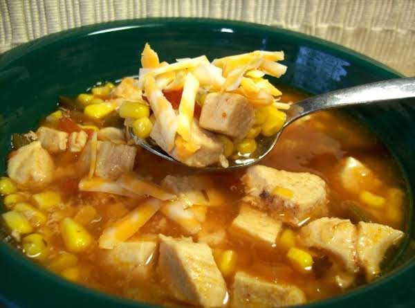 Salsa Chicken Soup Recipe