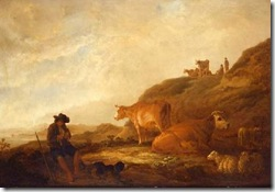 Cuyp - Dutch landscape painting