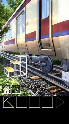 脱出ゲーム 電車のある道のおすすめ画像2