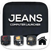 Jeans Theme For Computer Launcher