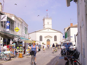 Photo: Le bois-Plage en Ré centre ville