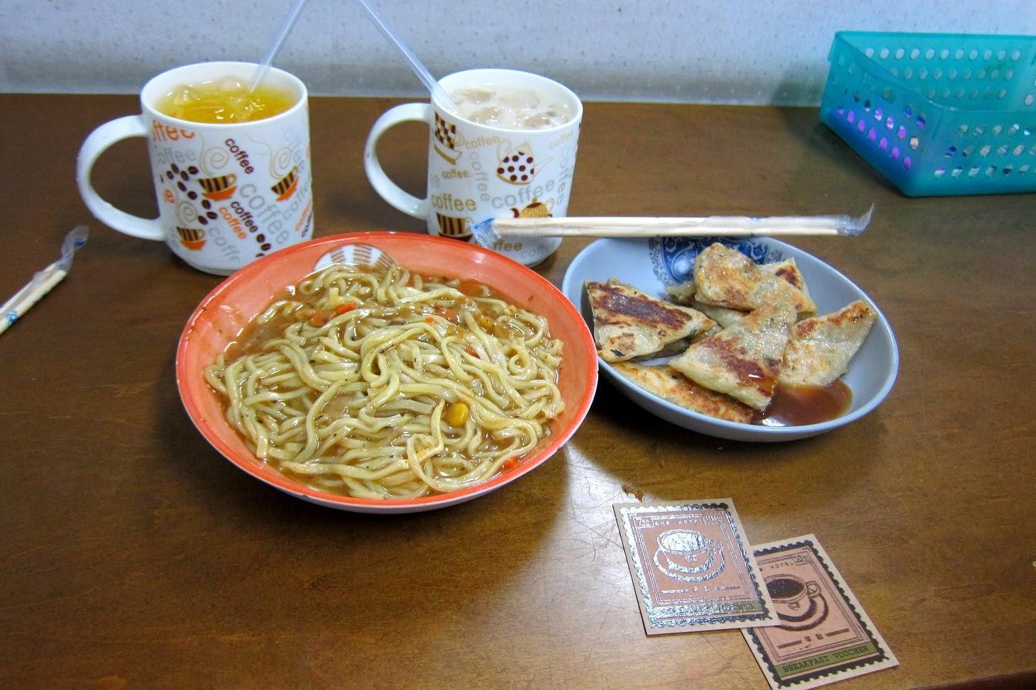 Cho Hotel Ximending breakfast