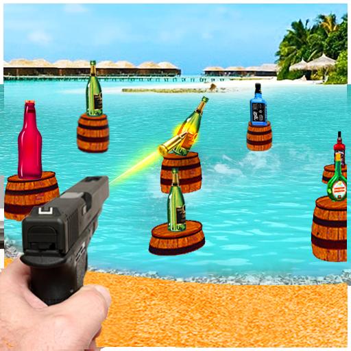 Bottle Gun Striker: Moving Target