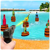 Real Bottle Shooting Game Mania