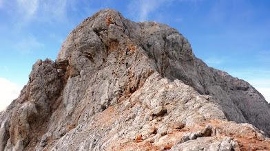 Photo: po grebenu proti vrhu