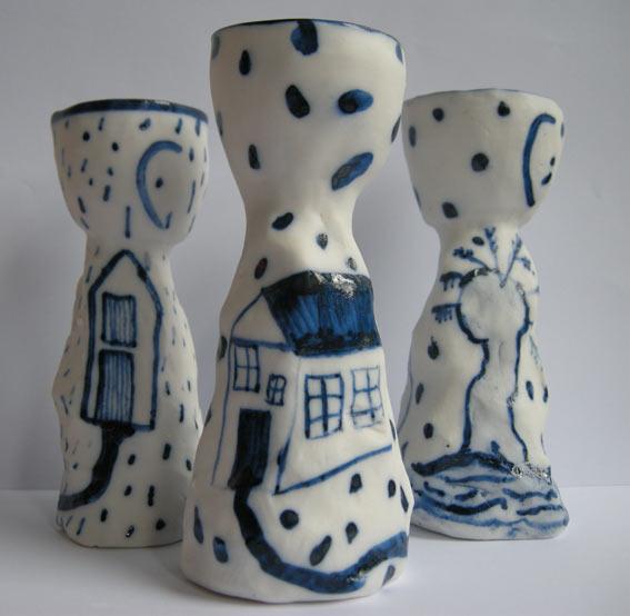 Afbeelding eierdoppen Marja v Hooft