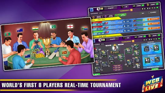 WCB LIVE Cricket Multiplayer:Play PvP Cricket Game 3