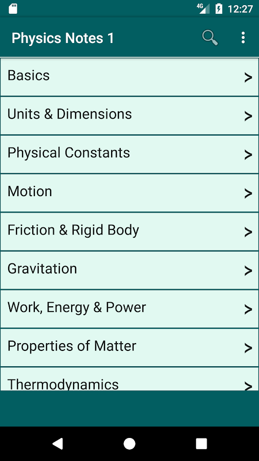 Physics Notes- screenshot
