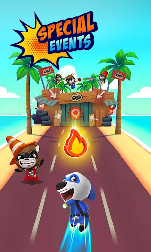 Talking Tom Hero Dash - Run Game screenshot 4