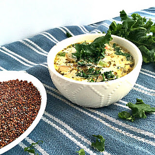 Healthy Tuscan Soup with Quinoa Recipe