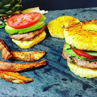 Pineapple Turkey Burger