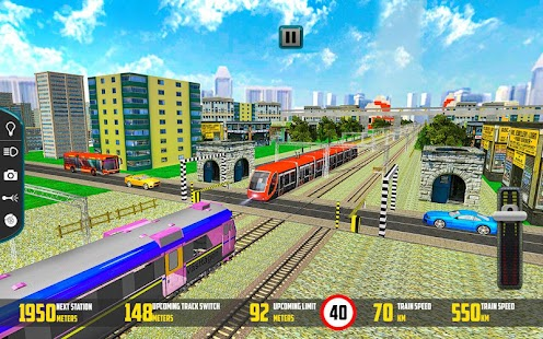 Euro Metro Train Racing 2017 – 3D simulátor hra - náhled